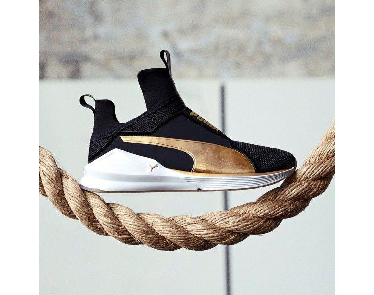 Puma Fierce Fresh Black/gold dame