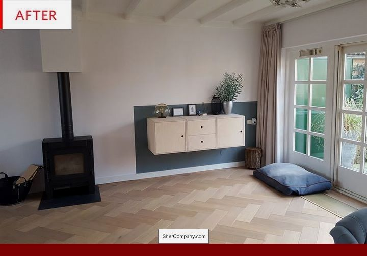 Cherry Wood Floor Decorating Ideas, Laminate Tile Flooring Ideas and ...
