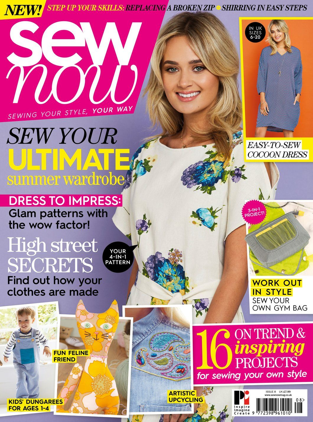 Sew now 8 magazine with simple sew cocoon dress pattern patterns sew now 8 magazine with simple sew cocoon dress pattern jeuxipadfo Image collections