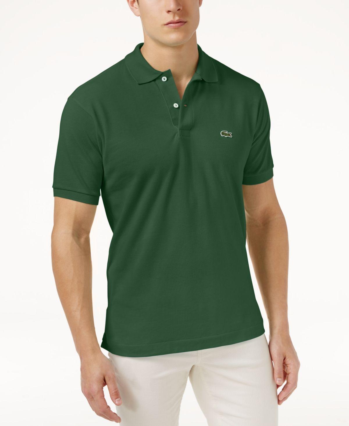Lacoste Men's Classic Fit Pique Polo Shirt, L.12.12 & Reviews ...