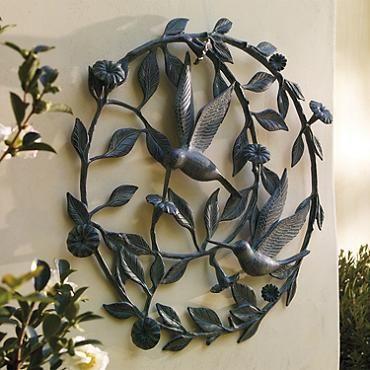 Outdoor Wall Plaques Brilliant Hummingbird Wall Plaque  Outdoor Plaques  Pinterest  Walls Design Inspiration