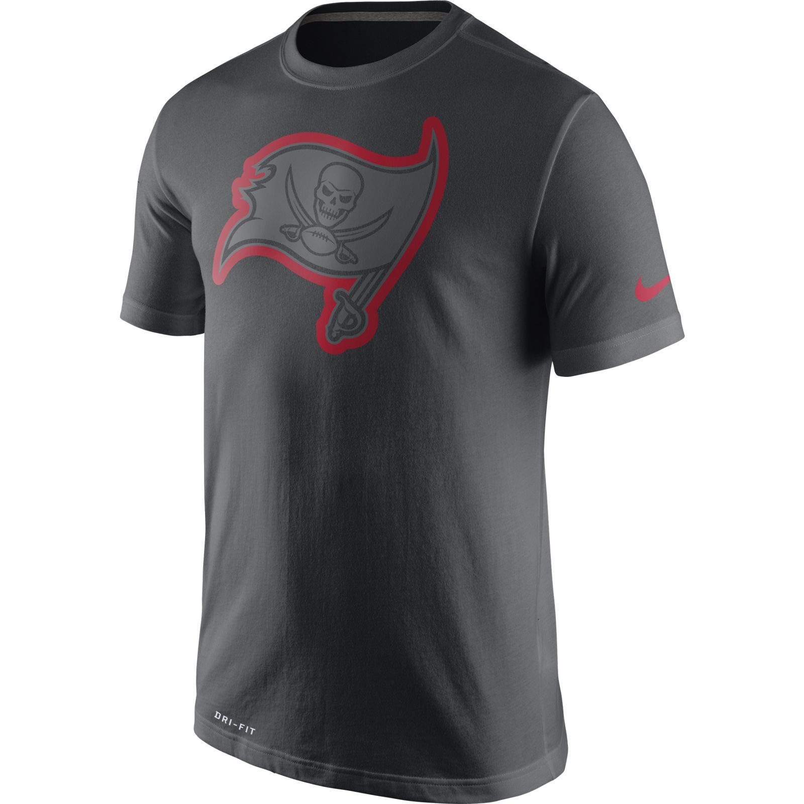 online store 4e0ee 61e0f Buccaneers Men's Team Travel Tee by Nike - Tampa Bay ...