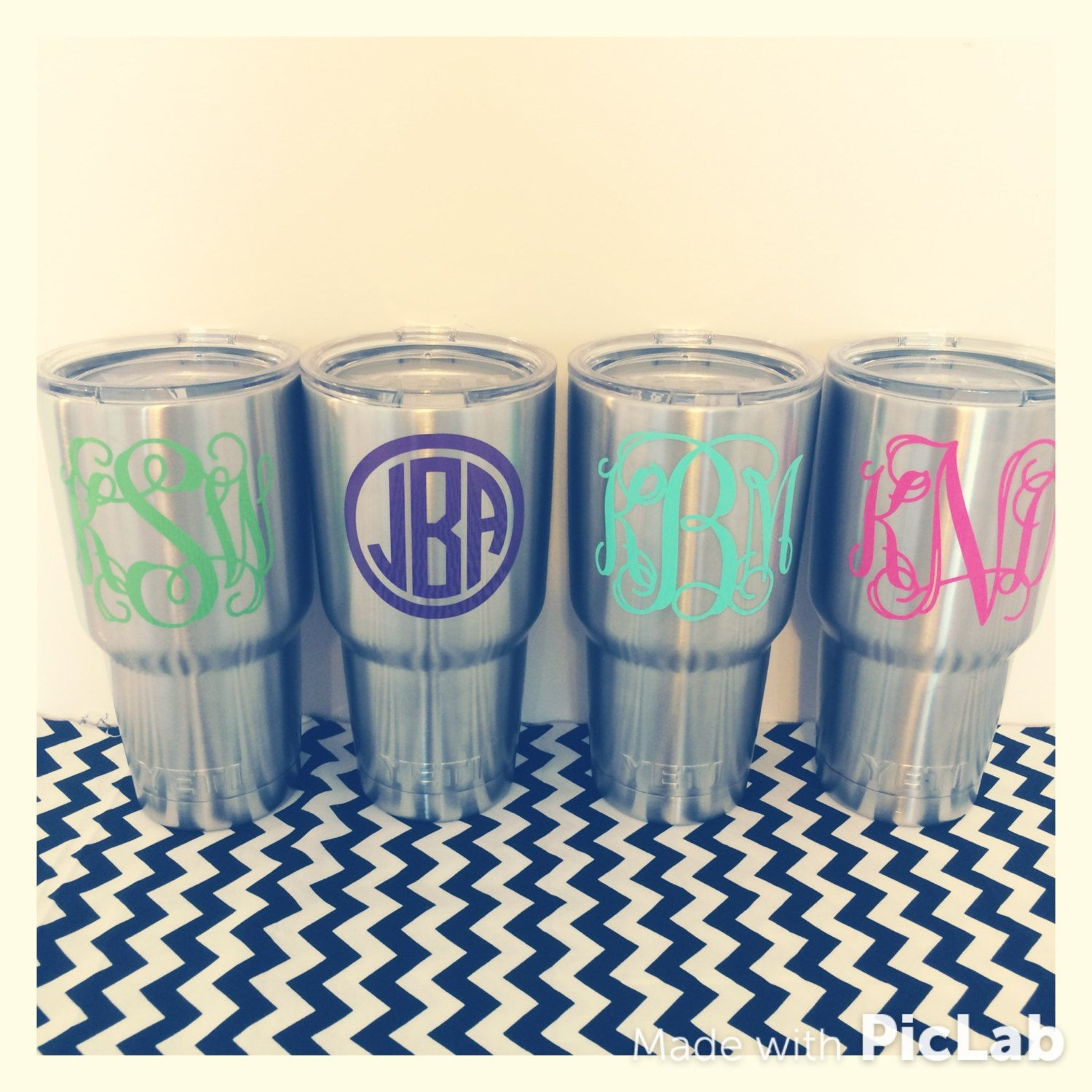 Vinyl Decal For Oz Yeti Rambler Tumbler VINYL DECAL ONLY - How to make vinyl decals for cups
