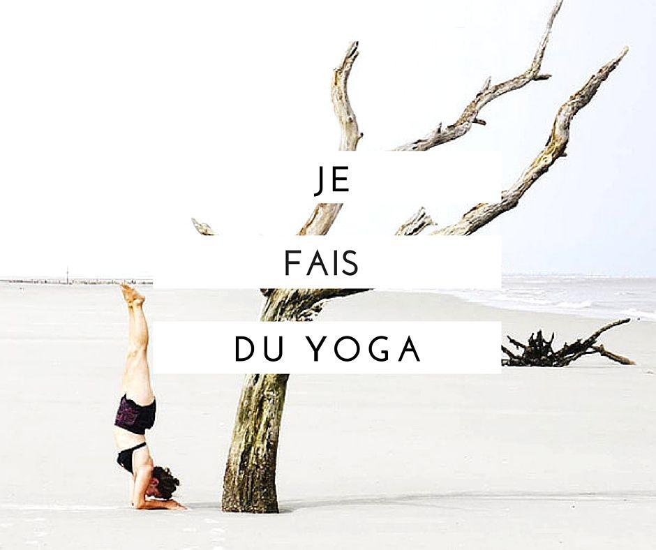 Je fais du yoga, je pratique, je vis le yoga... et je raconte tout ça par ici.