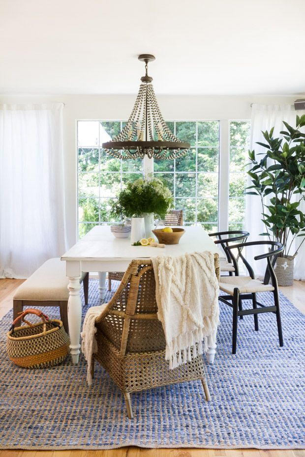 Our Dining Room Update Eclectic Dining Room Dining Room Updates