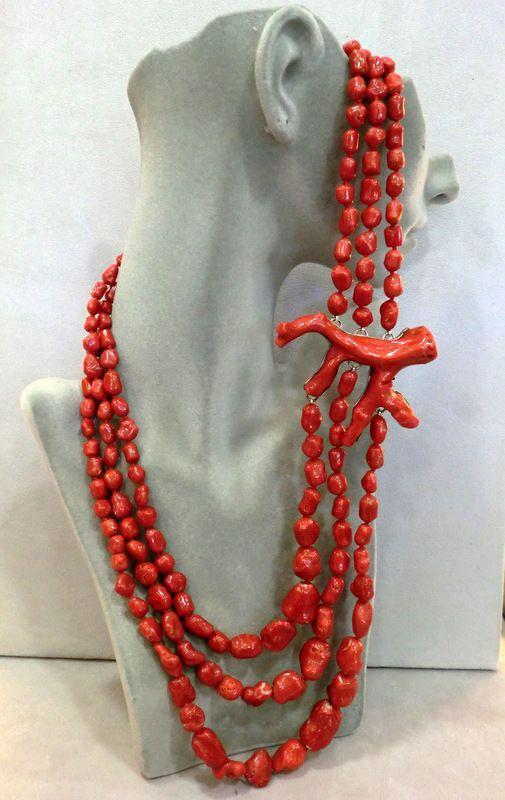 Collana di corallo di sciacca , Coral Necklace   CORAL   Pinterest   Coral  jewelry, Jewel and Stone