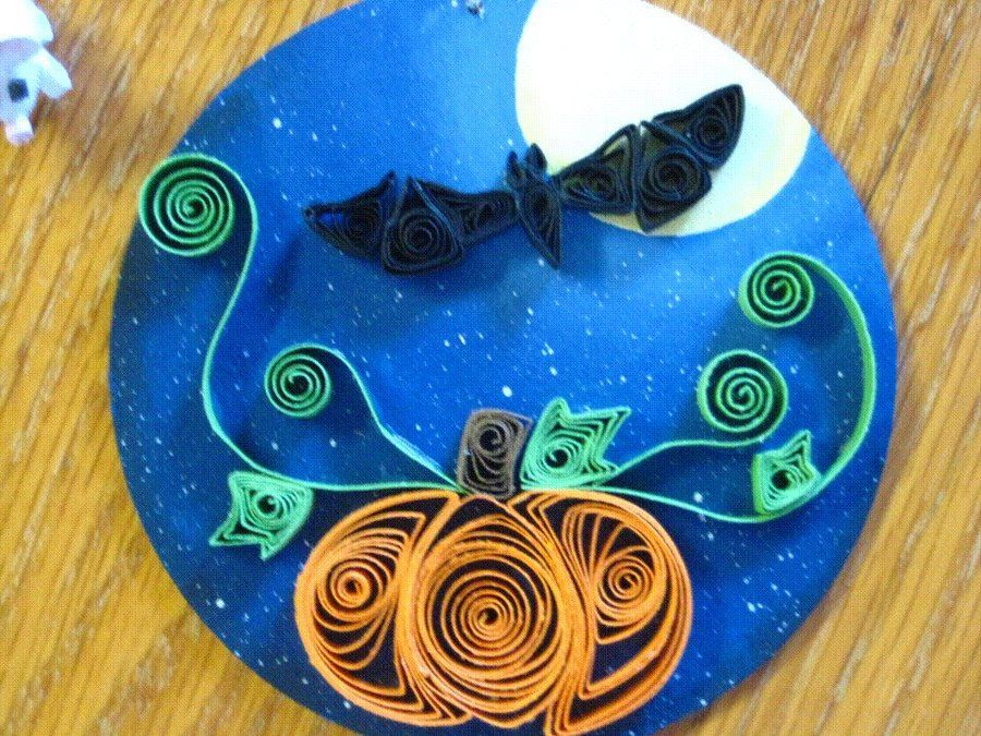 1000+ images about Paper Quilling HALLOWEEN / FALL on Pinterest