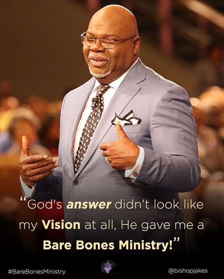 Td jakes on dating