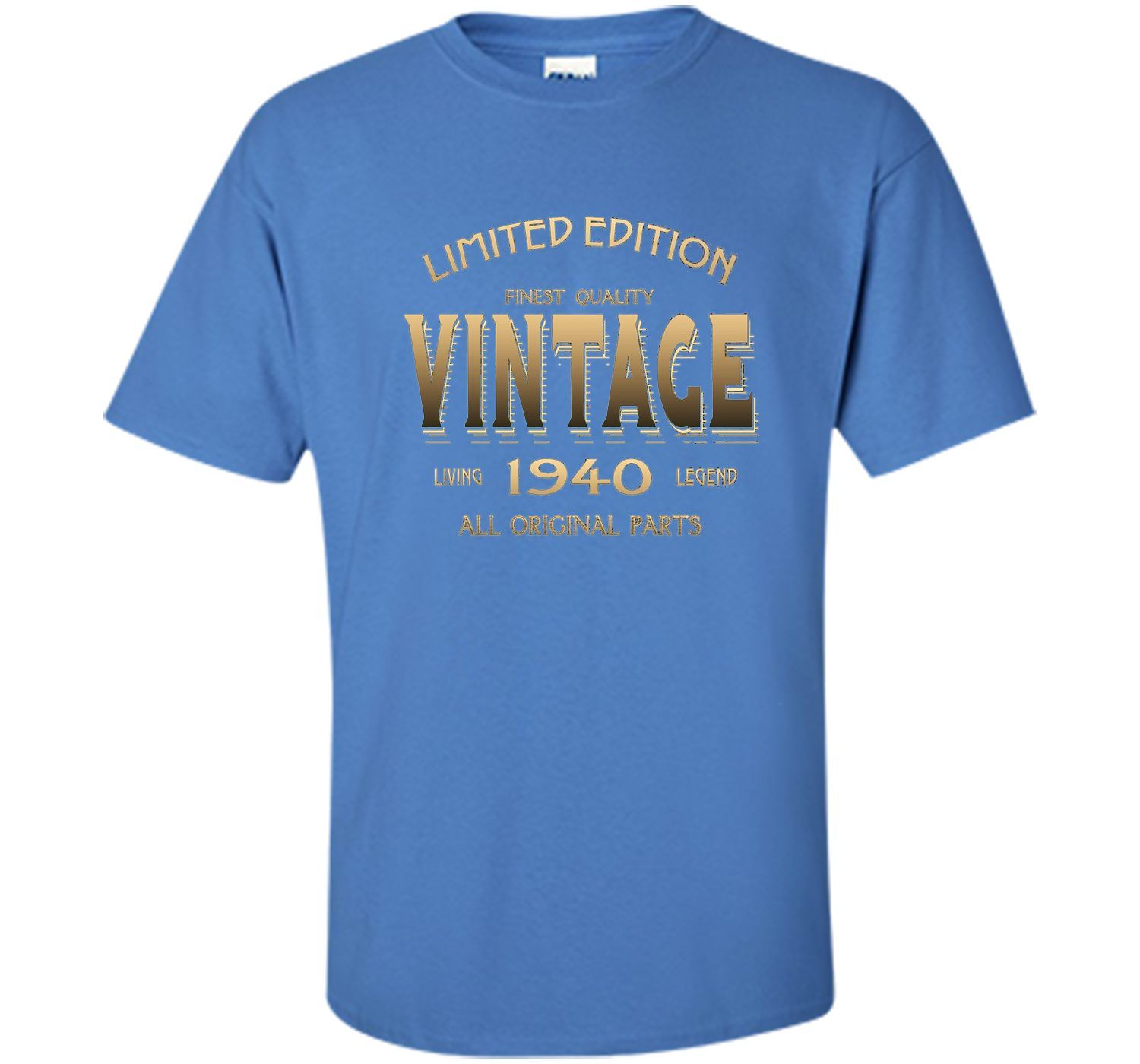 1940 T-shirt 77th Birthday Gift 77 Year Old B-day Present