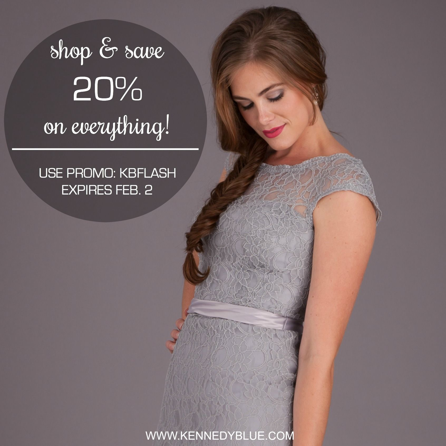 Save 20% On Your Entire Kennedy Blue Purchase When You