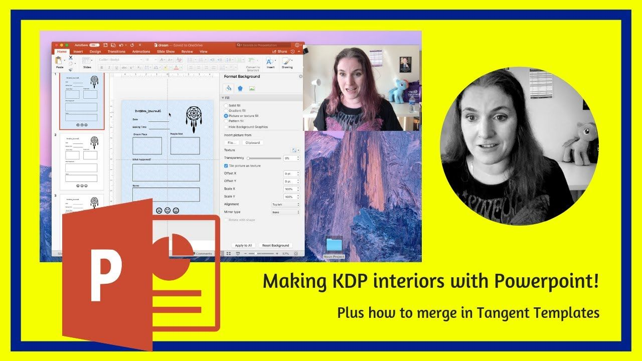 Publishing KDP Book Interiors with Powerpoint plus merging