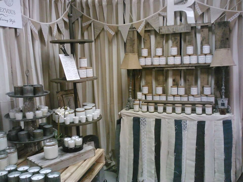 Rendezvous Soy Candle Display Candle Displays Candle Business Soy Candles