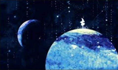 صور انمي عن الفضاء رح تعجبكم امبراطورية الأنمي Amino Anime Galaxy Anime Scenery Animation Background