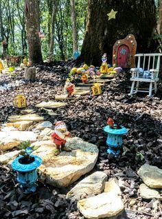 Fairy Garden Snow White & the 7 Dwarfs