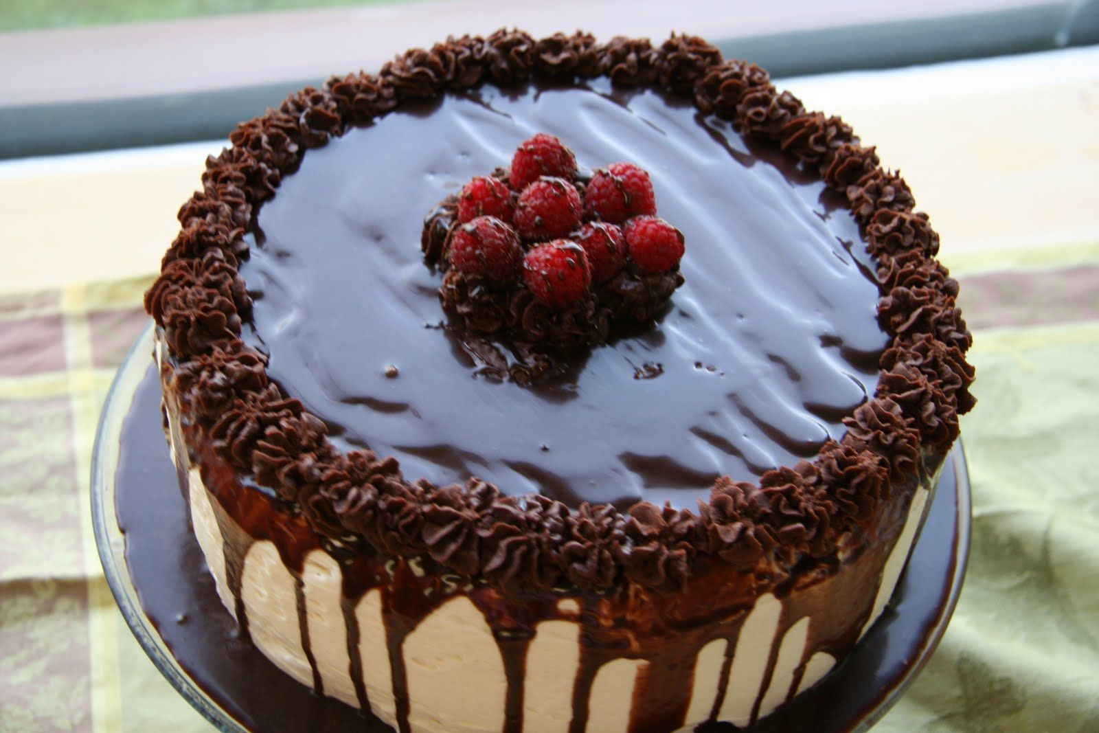Unbelievable Chocolate Cake With Raspberry Filling | Tasty ...