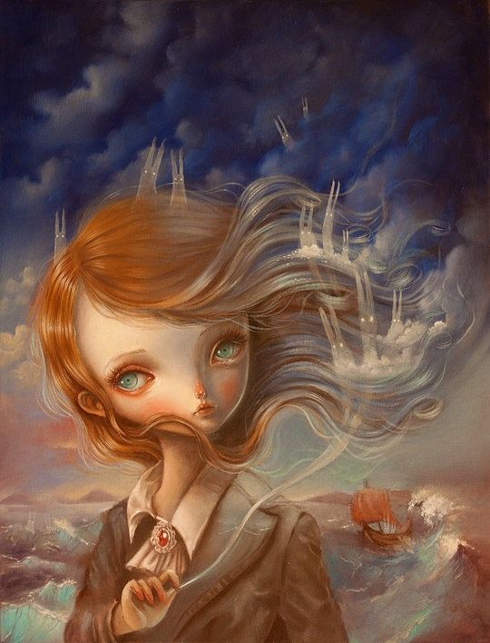 Surreal Portraits by Ania Tomicka