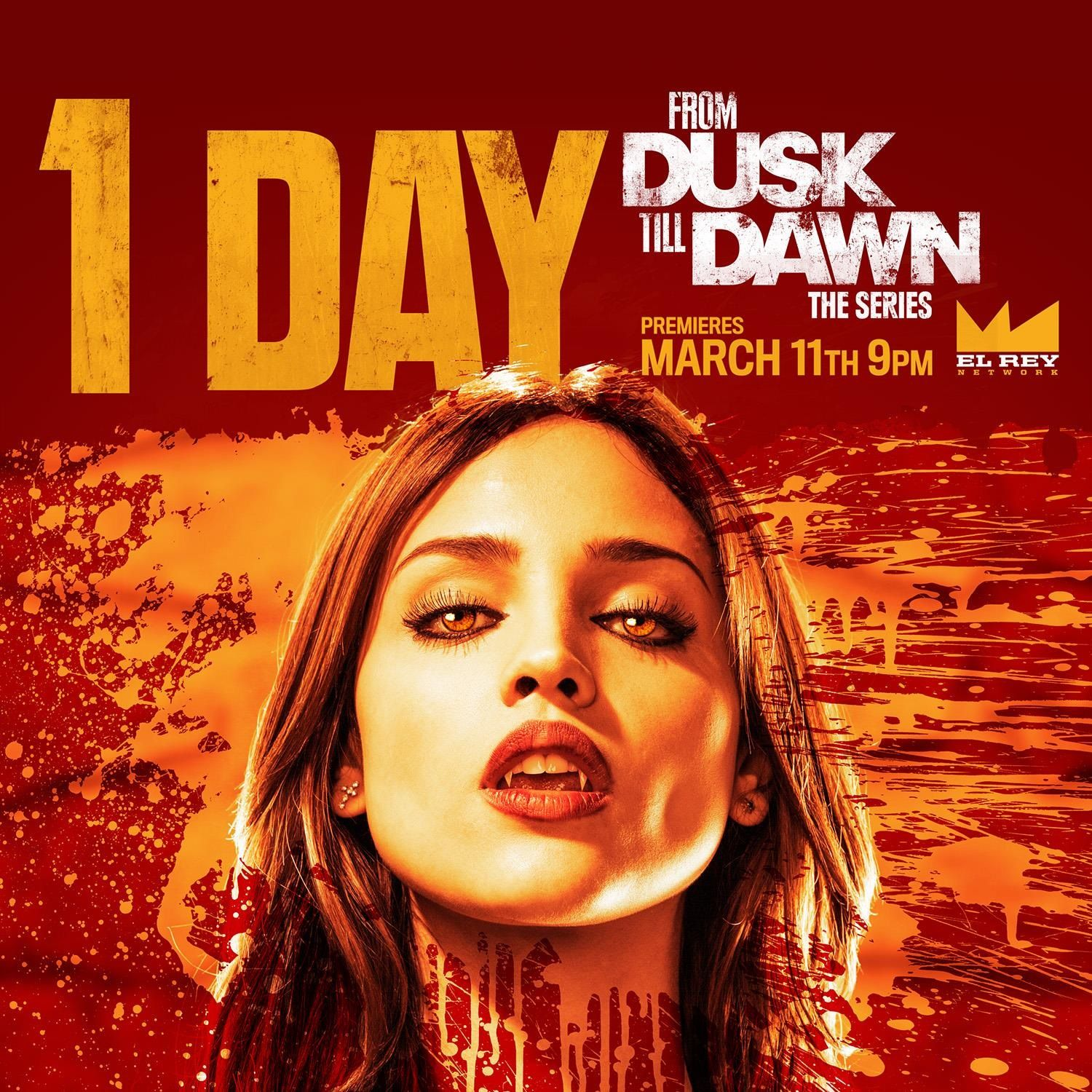 From Dusk Till Dawn: The Series | Tomorrow, Santanico beckons | Premieres March 11 on El Rey Network