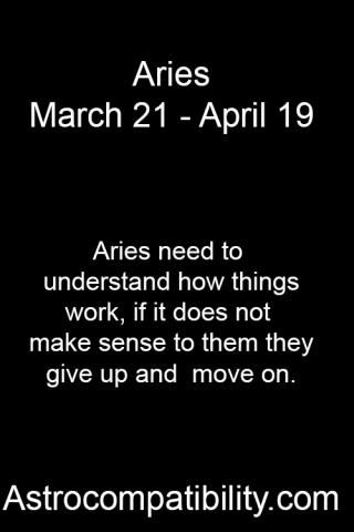 Aries Need To Aries Aries And Pisces Aries And Sagittarius