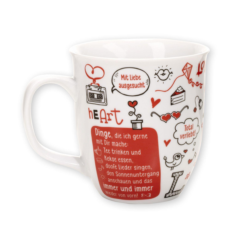 Kaffeebecher to Go MIT DIR Tasse Kaffee love Valentinstag Liebe Sheepworld