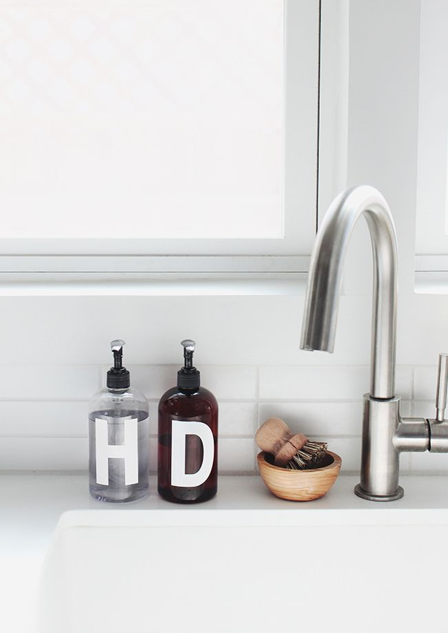 Diy Minimal Soap Bottles Almost Makes Perfect Kitchen Soap Minimal Kitchen Home Decor Kitchen