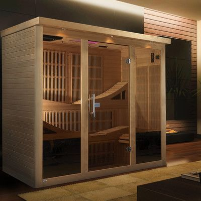 Dynamic Infrared Monaco 6 Person Carbon FAR infrared Sauna