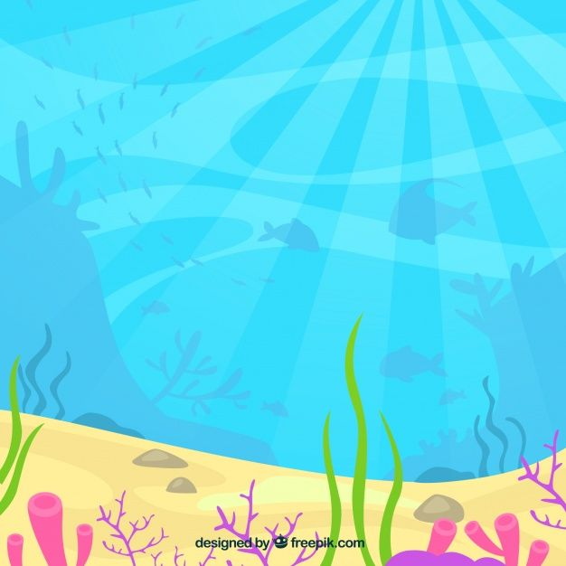 Download Underwater Background With Aquatic Animals for ...