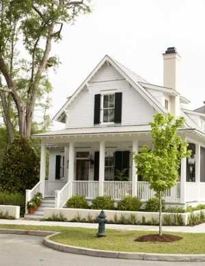 Small Southern Cottage House W/ 3 Different Porches! (HQ Plans U0026 Pictures)