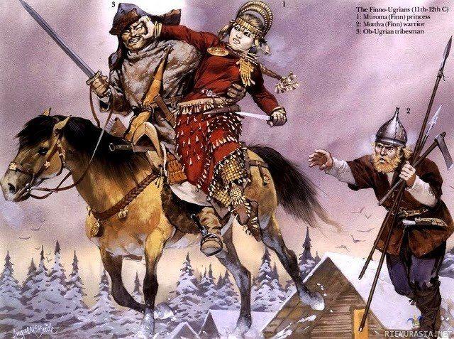 The Finno-Ugrians (11th-12th c) 1: Muroma (Finn) princess ...