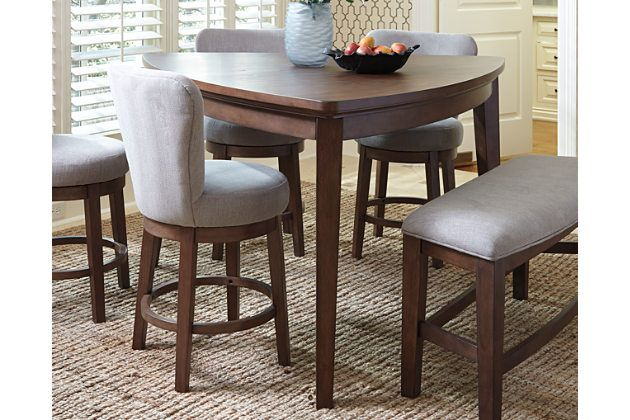 March To The Beat Of Your Own Drum With The Mardinny Dining Room Counter Height Tabl Dining Room Table Counter Height Dining Room Tables Kitchen Table Settings