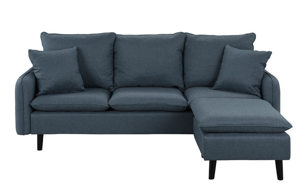 Petra Contemporary Space-Saving Sectional Sofa in 2019 | Home ...
