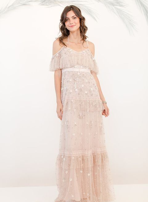 20 Flirty Cold Shoulder Wedding Dresses | HappyWedd.com #PinoftheDay #flirty #cold #shoulder #ColdShoulder #wedding #dress