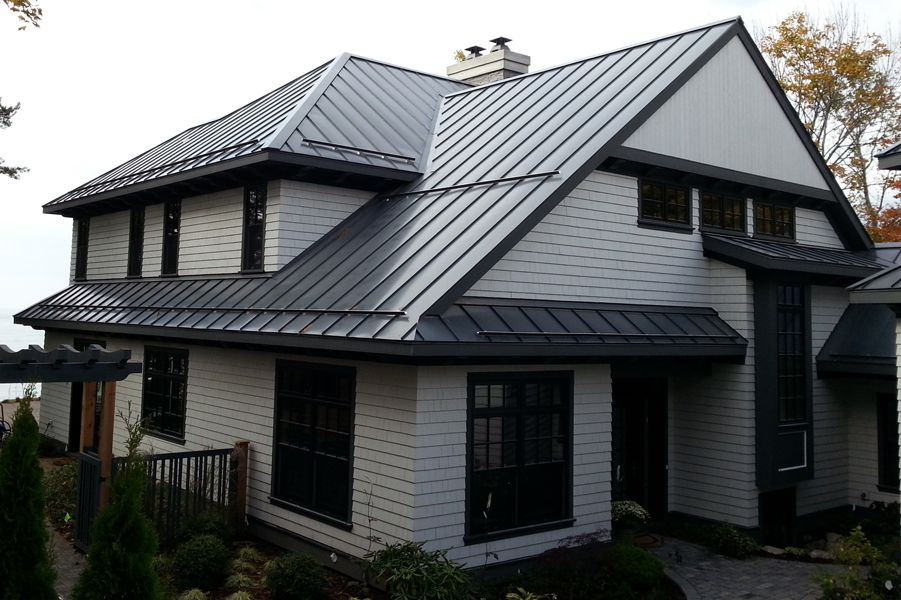 Best Roof Gallery Drexel Metals Homes And Entrances 400 x 300