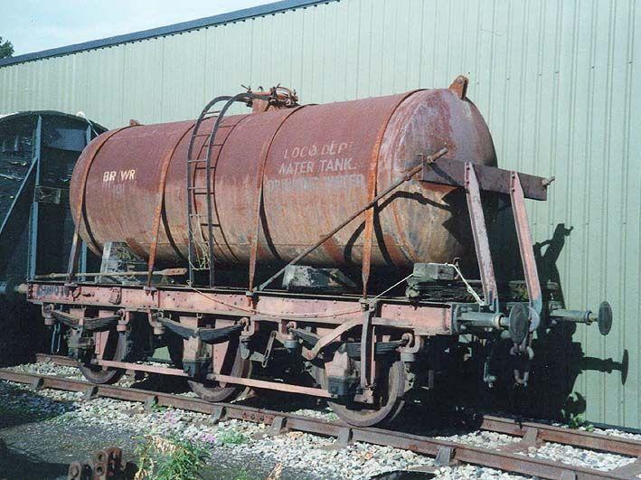 Drinking Water Tank Wagon - No 101 - 6 wheel Drinking Water