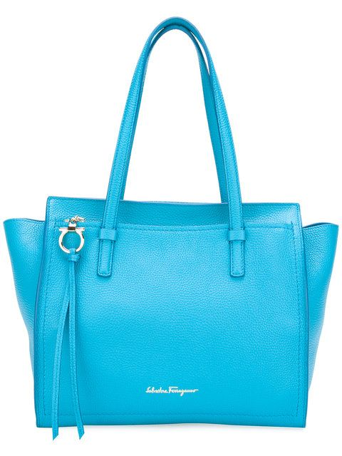 SALVATORE FERRAGAMO Medium Amy Tote.  salvatoreferragamo  bags  leather   hand bags  tote   f1e6b07af5854