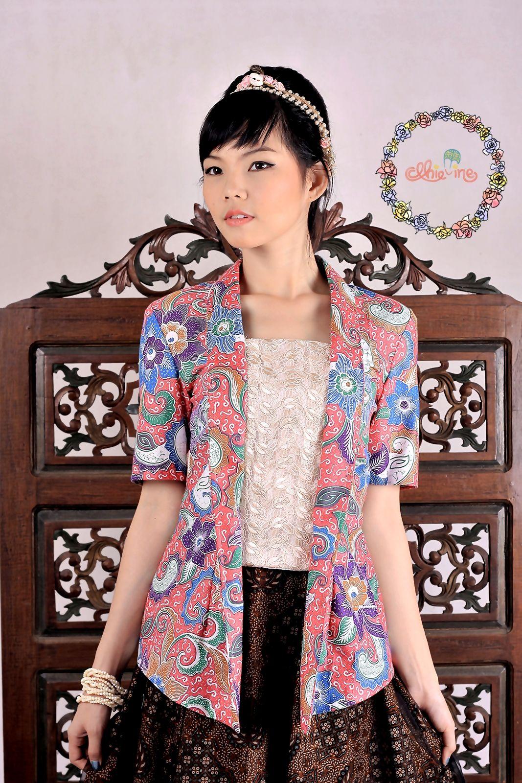 Kutubaru batik dhievine redefine you kebaya pinterest