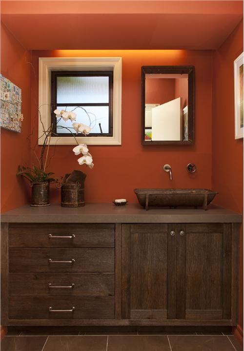 Best Paint Colors For Rustic Bathroom