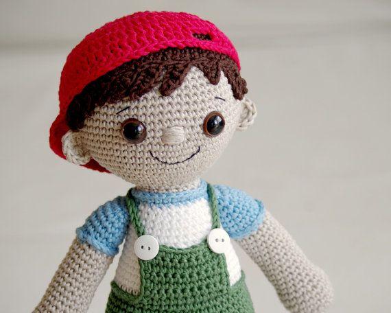 Amigurumi Boy Doll Pattern : Pattern tobias the amigurumi boy doll crochet amigurumi in