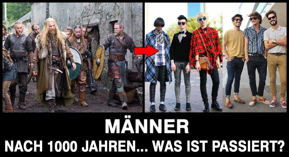 Männer - Nach 1.000 Jahren... Was ist passiert???