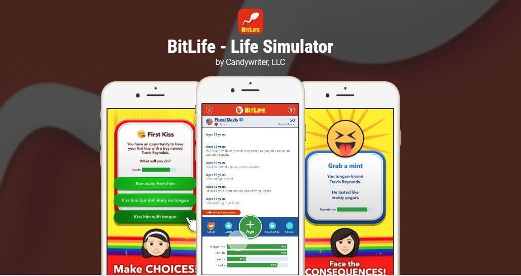 Bitlife Life Simulator Novel Games Life Simulation Games