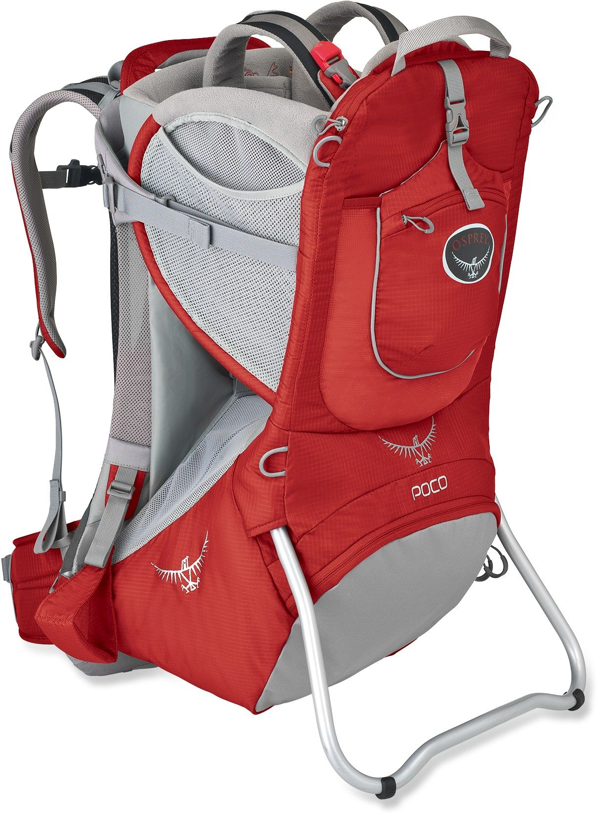 Osprey Poco Child Carrier Romper Red