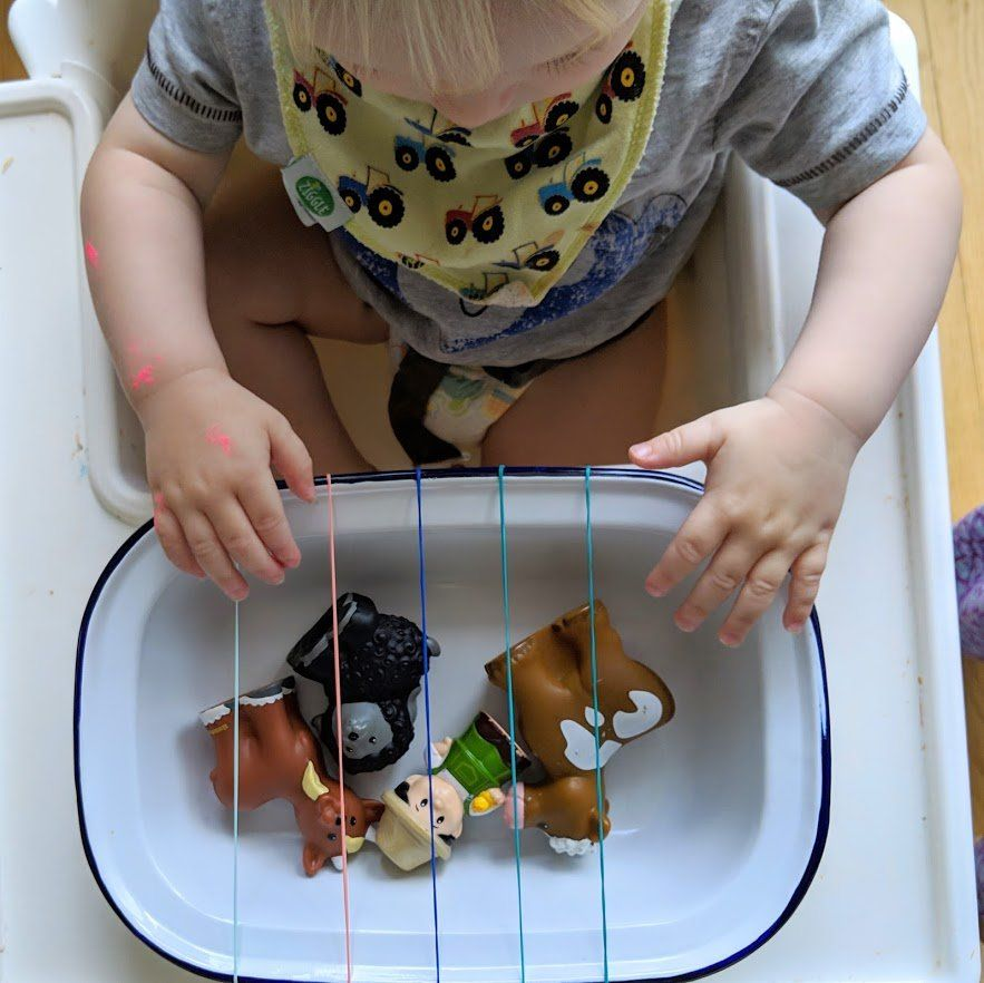 21 Highchair Activities for Toddlers and Tabbies