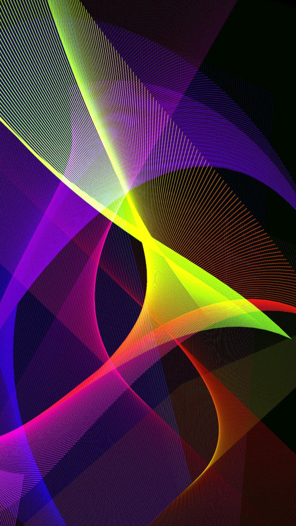 Abstract color lines wallpapers for iphone and android wallzapp also rh pinterest