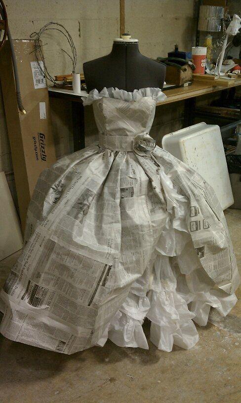 Paper Dress By Zelda27 On Deviantart Inspiración Ropa