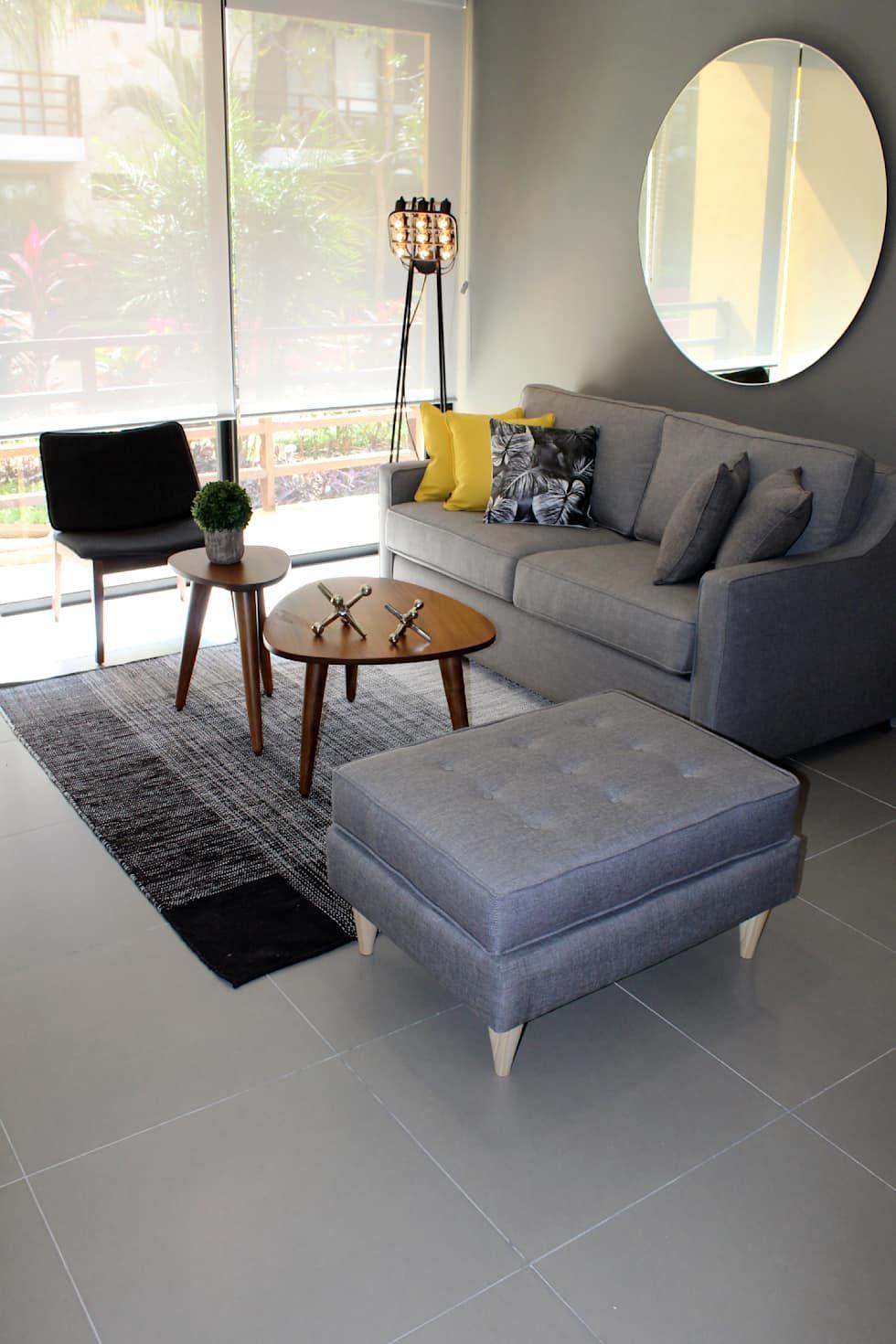Salones modernos de homify moderno en 19  Muebles para salas