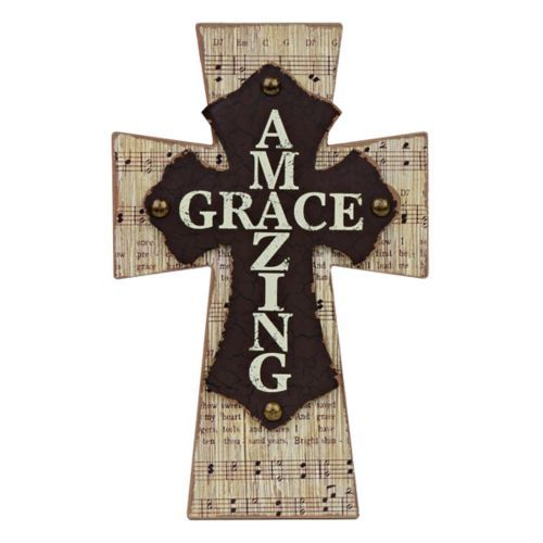Amazing Grace Music Cross Cross Wall Decor Amazing Grace Cross Cross Wall Art