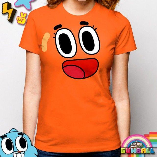 The Amazing World of Gumball - Ladies Darwin Costume T-Shirt