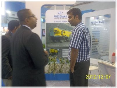 International Mining And Machinery Exhibition @puzzolana