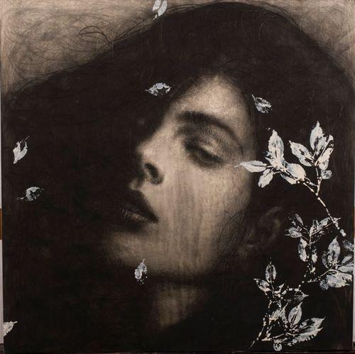 artemisdreaming: Omar Galliani - represented by: La Galleria Il Sipario HERE See archive for more Omar Galliani.