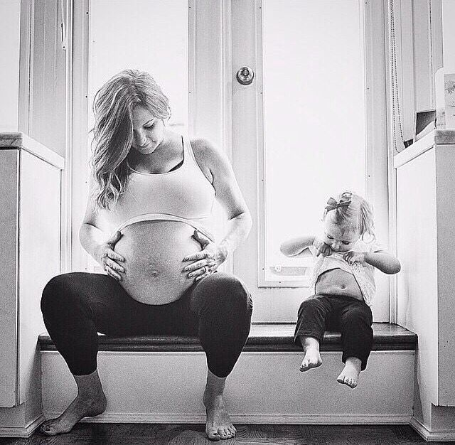 Mommy daughter maternity