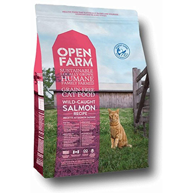 Open farm grain free salmon cat food 8lb to view further